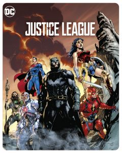 """Justice League"" erscheint als ""Illustrated Artwork"" Steelbook auf Blu-ray"