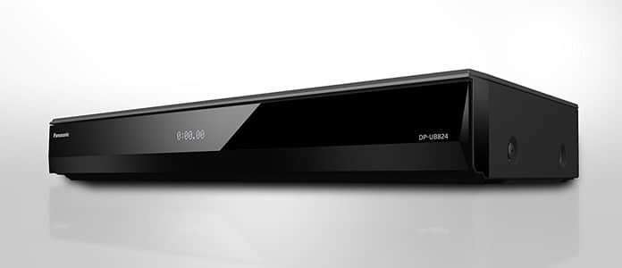 Panasonic DP-UB824EGK mit HDR10+ und Dolby Vision HDR sowie analogen 7.1 Audioausgängen