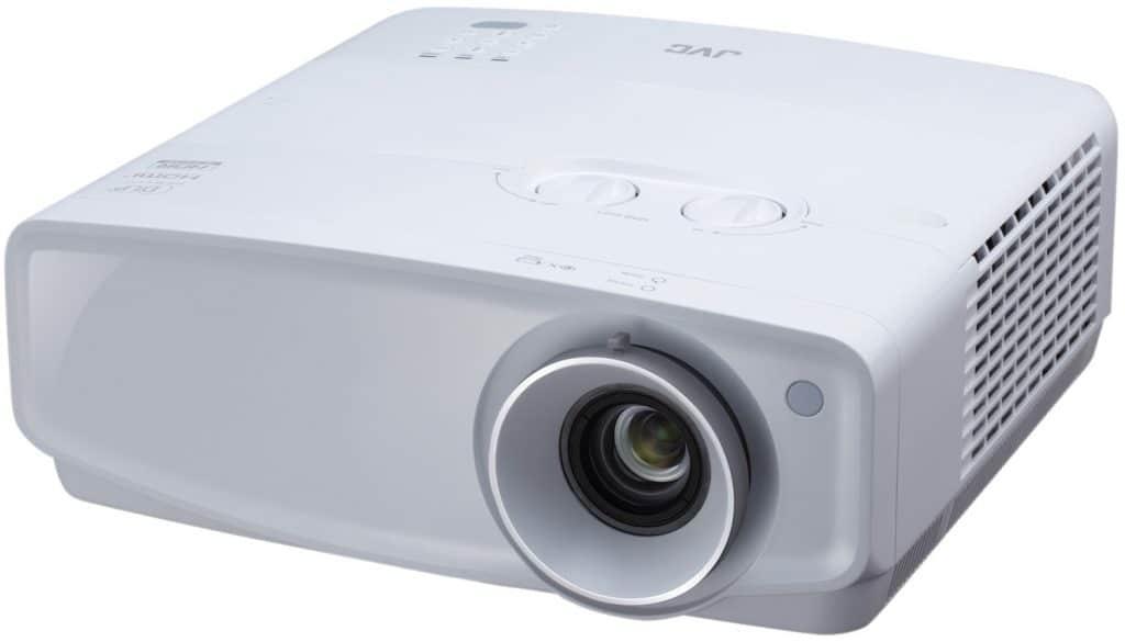 Den JVC LX-UH1 gibt es auch in einer weißen Variante