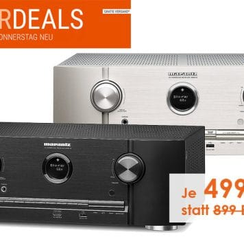 Marantz SR5012 7.2 AV-Receiver mit HEOS, Dolby Vision uvm. für knackige 499 EUR