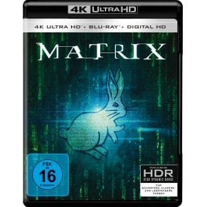 Matrix 4K Blu-ray Cover