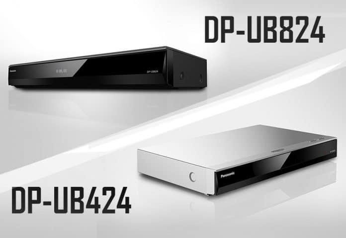 Panasonics 2018 4K UHD Blu-ray Player DP-UB424 und DP-UB824 sind ab sofort vorbestellbar