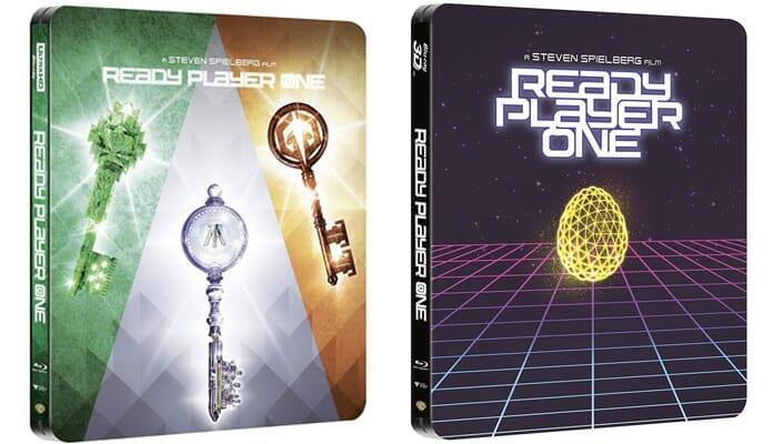 """Die finalen Artworks der 4K & 3D Blu-ray Steelbooks von """"Ready Player One"""""""