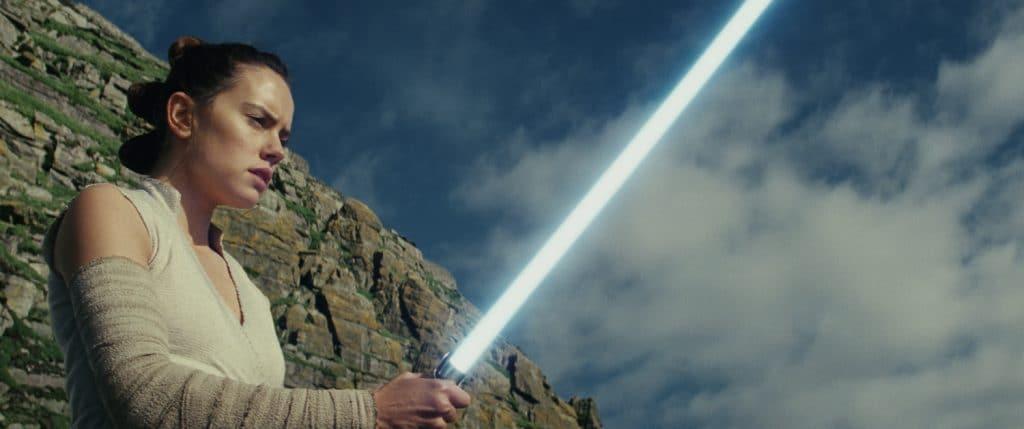 Die Figur der Rey (Daisy Ridley) gerät leider etwas in den Hintergrund