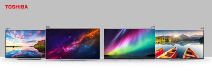 Das komplette 2018 TV-Lineup mit X98 (OLED) und drei LCD-UHD-Serien U78, U68 & U58
