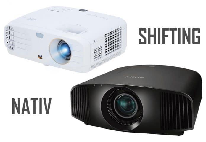 Unterschied zwischen nativen 4K Projektoren und