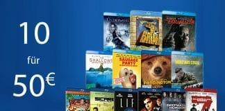 10 teilnehmende Blu-rays in den Warenkorb legen und nur 50 Euro zahlen!