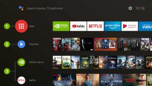 Nvidia überholt den Startbildschirm für die Shield Experience 7.0