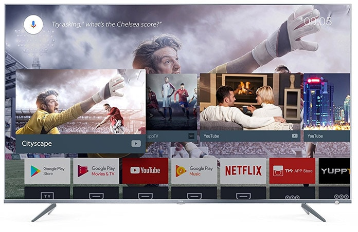 Android TV soll für eine einfache Menüführung und weitreichende Streaming-Unterstützung sorgen. Auch der Google Assistant ist mit an Bord