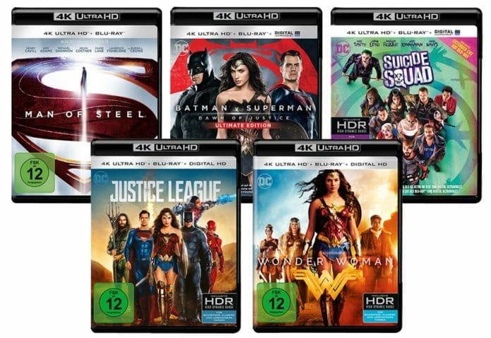 Hoffentlich erscheint das DC Comics 5-Filme-Bundle zu einem attraktiven Preis