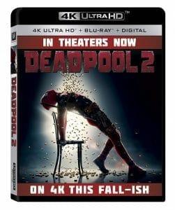 """Die 4K Blu-ray von """"Deadpool 2"""" wird im US-Shop von Amazon bereits angeboten. In Deutschland hat sich die 4K Blu-ray noch nicht blicken lassen"""