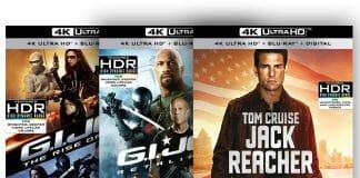 """Beide """"G.I. Joe"""" Teile sowie """"Jack Reacher"""" feiern ihre Wiederveröffentlichung auf 4K Blu-ray"""