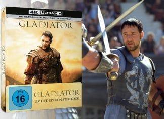 """Das 4K Blu-ray Steelbook stellt die bislang beste Version von """"Gladiator"""". Bild & Ton können überzeugen, es bleibt aber Potential liegen"""