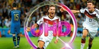 Die Fußball WM in 4K Ultra HD ist das vorläufige Highlight und kann mit jedem Sky Paket verfolgt werden (inkl. Sky Q Receiver) // Bildquelle: Sky.de