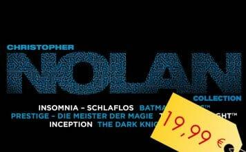 Die Christopher Nolan Collection auf iTunes ist für kurze Zeit für 19,99 EUR erhältlich (6 Filme - 5x4K Dolby Vision)