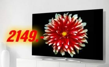 Der OLED65B7D wird im Schnapp des Tages zum Bestpreis von 2.149 EUR angeboten