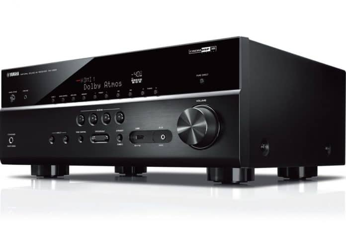 yamaha vier neue av receiver rx v685 rx v585 rx v485. Black Bedroom Furniture Sets. Home Design Ideas