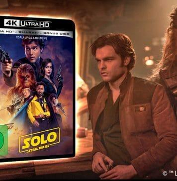 """""""SOLO: A Star Wars Story"""" erscheint auf DVD, Blu-ray, 3D Blu-ray und 4K UHD Disc"""