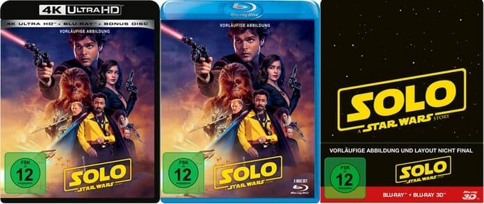 Vorläufiges Cover-Design der 4K Blu-ray, Blu-ray und 3D Steelbook