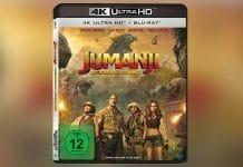 Jumanji: Willkommen im Dschungel auf 4K Blu-ray im Test