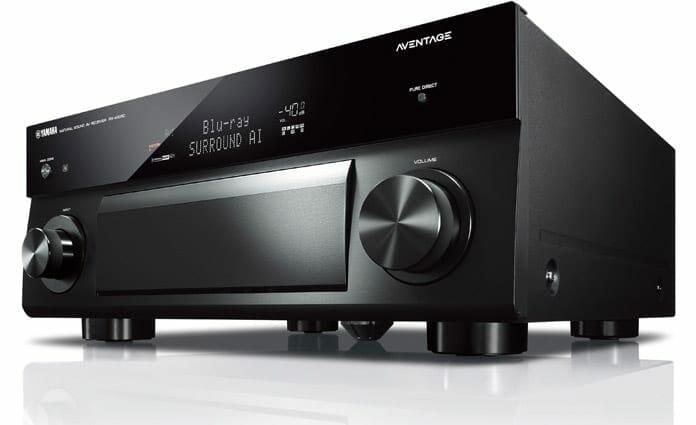 """Ab dem Yamaha RX-A1080 sind die AV-Receiver mit der neuen innovativen """"Surround AI"""" ausgestattet"""