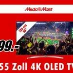 Den 55 Zoll B7 4K OLED TV gibt es für kurze Zeit für nur 1.299 Euro!