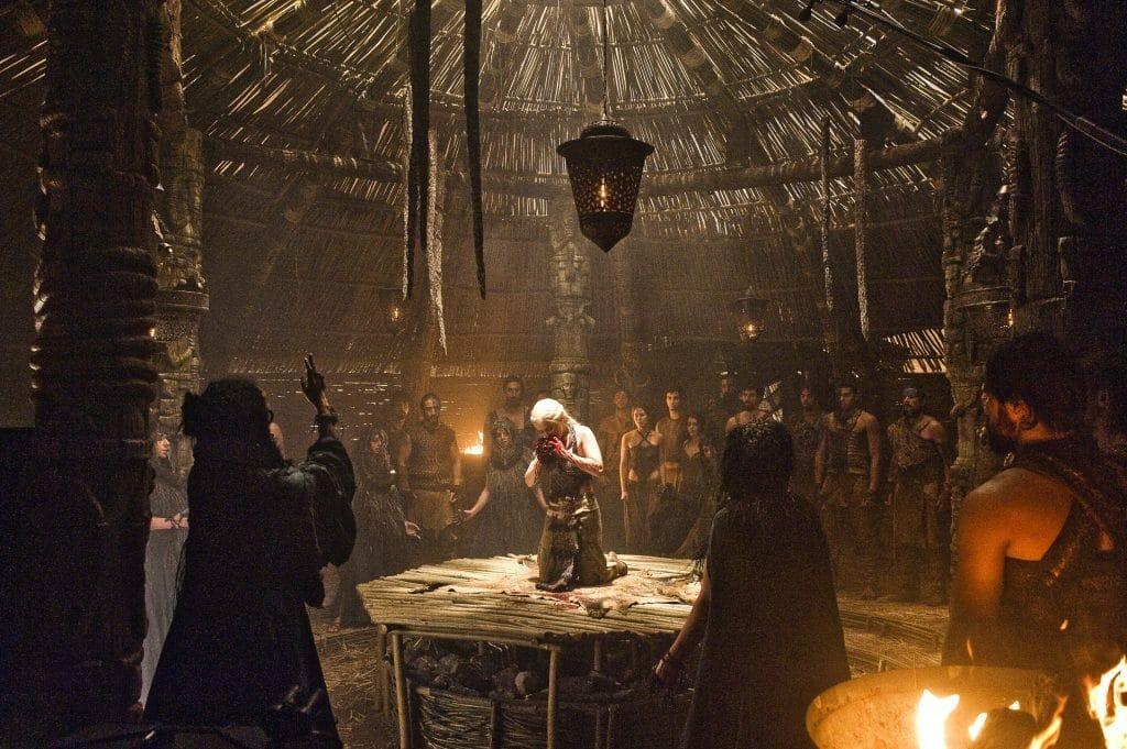 Brutal geht es zu in Westeros. Man sollte nicht allzu zart beseitet sein.