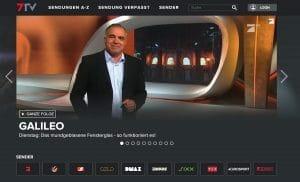 ProSiebenSat.1 betreibt die Plattform 7TV