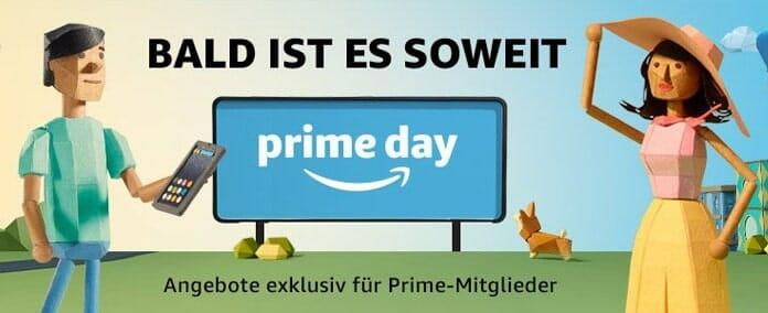 Auf der deutschen Amazo Prime Day-Seite wurde bereits ein neuer Platzhalter für das Event platziert!