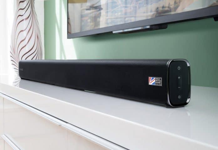 Cambridge Audio stellt die neue Soundbar TVB2 V2 (Abbildung) sowie die Soundbases TV2 und TV5 vor