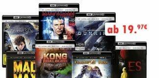 Günstige 4K Blu-rays gibt es diese Woche ab 19.97 Euro!