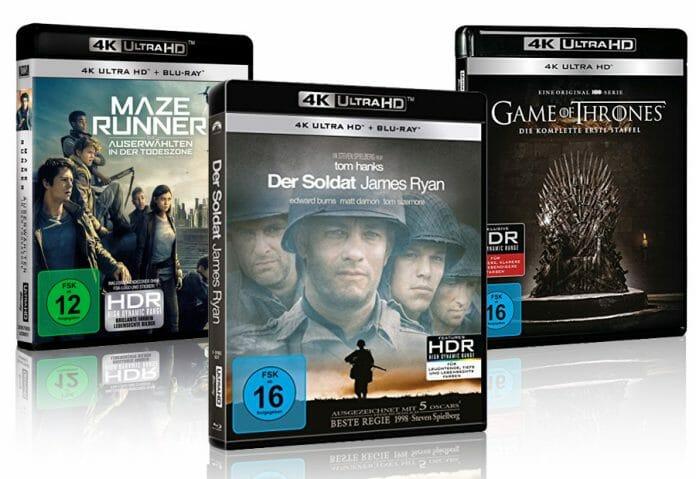 Trotz Sommerloch und Fußball-WM gibt es einige sehenswerte Filme & Serien auf 4K Blu-ray & Blu-ray
