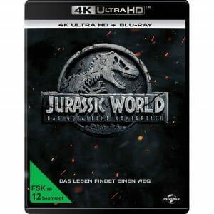 Jurassic World: Das gefallene Königreich 4K Blu-ray Cover