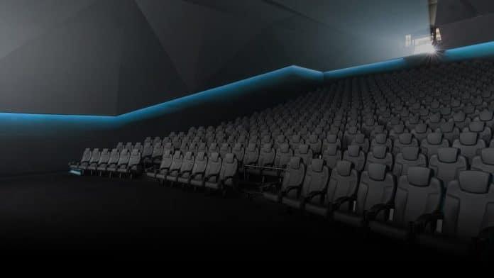 Ein futuristisches Design des Kinosaals sowie bequeme Sitze sind ebenfalls Bestandteil der