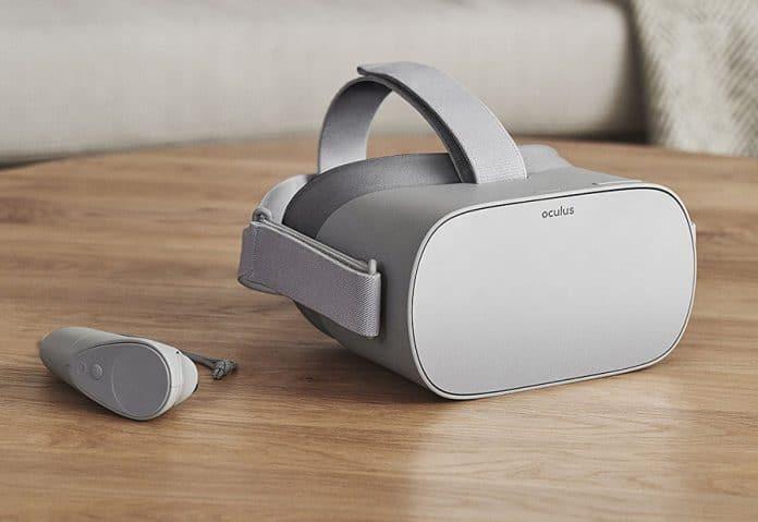 Die Oculus Go VR-Brille bietet ein ganz persönliches Heimkino-Erlebnis mit