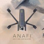 Parrot Anafi: Faltbare Drohne filmt mit 4K und HDR
