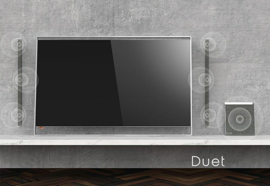 philips duet oled fernseher mit abnehmbaren lautsprechern geleakt 4k filme. Black Bedroom Furniture Sets. Home Design Ideas