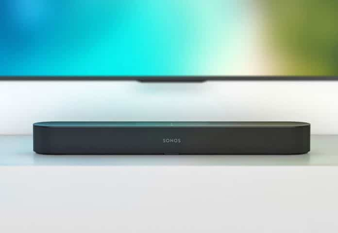 Sonos Beam Soundbar mit Amazon Alexa Sprachassistent