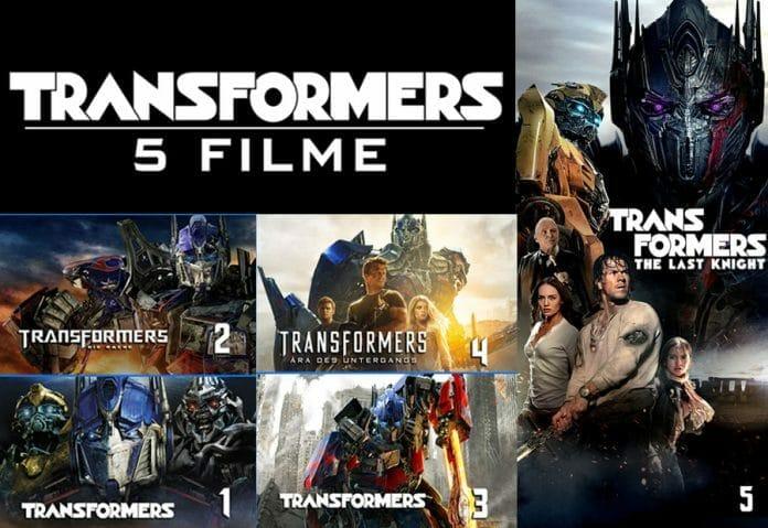 Transformers 5 Filme Collection auf iTunes in 4K & Dolby Vision HDR für nur 34,99 Euro!