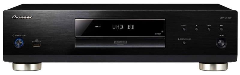 Der UDP-LX500 baut auf dem Design des BDP-LX58 auf