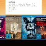 Vier Blu-rays für 22 Euro - Somit kostet ein Film nur 5.50 Euro