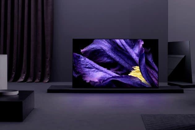 """Der neue Sony AF9 OLED TV gehört zur """"Master Series"""" und nutzt die Rechenpower des X1 Ultimate Prozessores"""