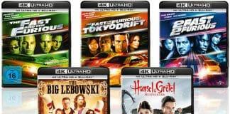 """""""The Big Lebowski"""" sowie die ersten drei Teile der """"Fast & Furious""""-Filmreihe erscheinen auf 4K Blu-ray"""