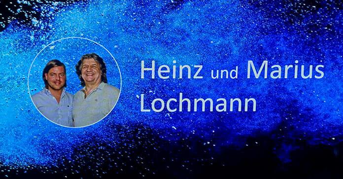 Heinz und Marius Lochmann begrüßten die Pressevertreter und standen auch in einer Q&A Session Rede und Antwort