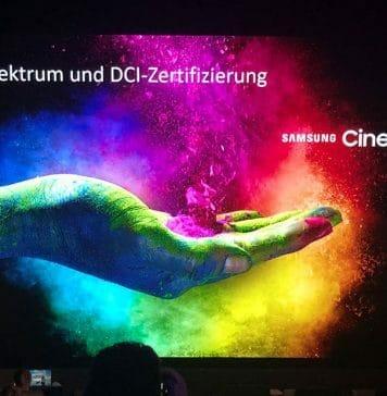 """Teil 2: Die Technik des """"Samsung Cinema LED""""-Displays"""