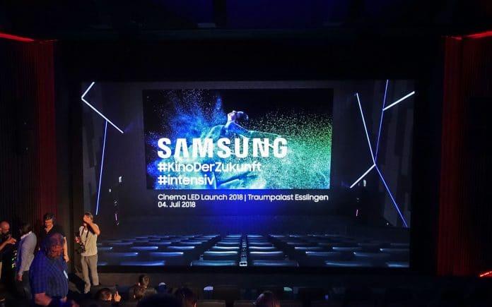 Unser erster Gedanke zum Samsung Cinema LED Display war: