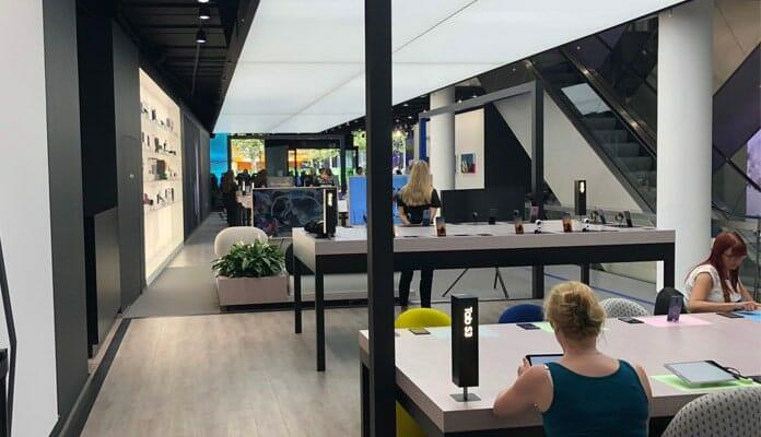Im Samsung Showcase in Frankfurt findet man so ziemlich alles aus dem Universum des koreanischen Herstellers