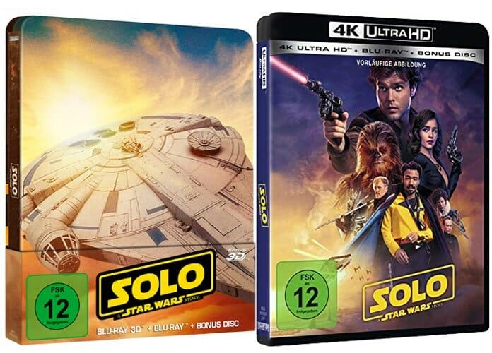 Die HD, 3D und 4K Blu-ray sind mit einer zusätzlichen Bonus-Disc ausgestattet