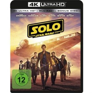 Solo - A Star Wars Story 4K Blu-ray
