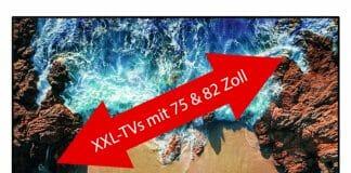 Amazon reduziert XXL-4K-Fernseher von Samsung mit 75 & 82 Zoll um bis zu 42%